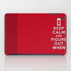 Keep Calm and Figure Out When iPad Case