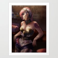 VI-After Hours  Art Print