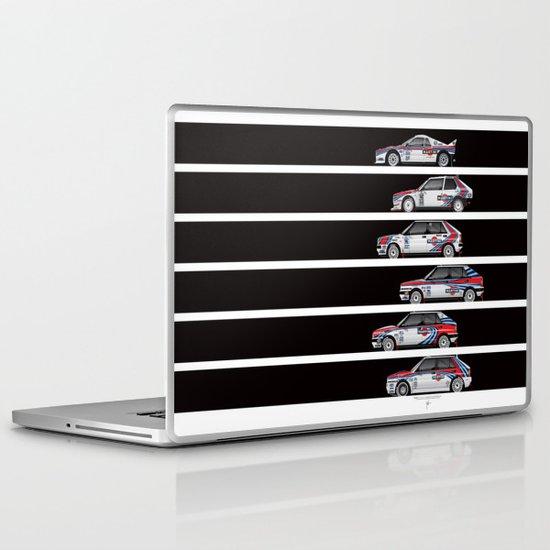 Lancia Martini Rally Cars Laptop & iPad Skin