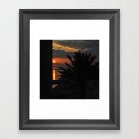 And Watch The Sun Go Dow… Framed Art Print