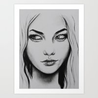 Sidelong  Art Print