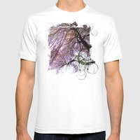 May Mens Fitted Tee White SMALL