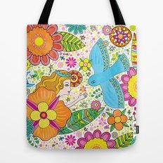 Queen's Garden Tote Bag