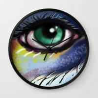Aura Of The Visual Wall Clock