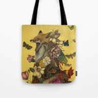 Fox Confessor Tote Bag