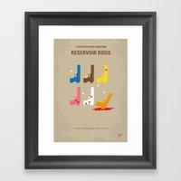 No069 My Reservoir Dogs … Framed Art Print