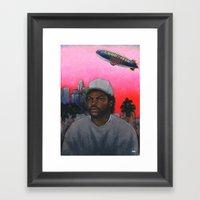 ICE CUBE'S A PIMP! (orig… Framed Art Print