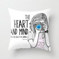 True Lens - Special Edit… Throw Pillow