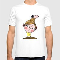 thE Pig man Mens Fitted Tee White SMALL