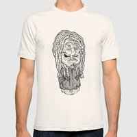 Bach is dead Mens Fitted Tee Natural SMALL