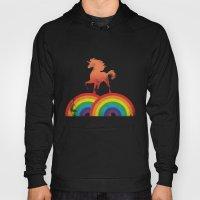 Double rainbow Hoody