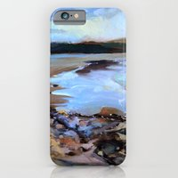 iPhone & iPod Case featuring into the silent water by berg with ice