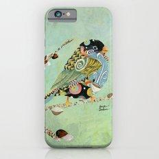 Cafe Swirly Bird 5 iPhone 6s Slim Case