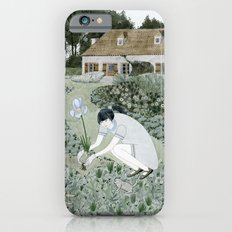 Planting Irises iPhone 6 Slim Case