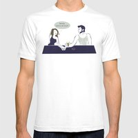 Wolverine At The Bar Mens Fitted Tee White SMALL