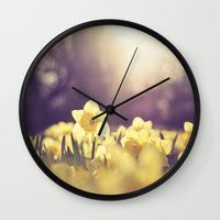 Yearning for Spring Wall Clock
