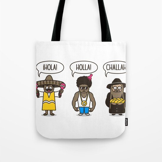 Holler At Your Boys Tote Bag