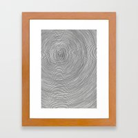 Tree Trunk Framed Art Print
