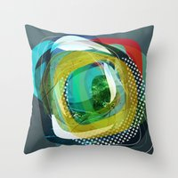 the abstract dream 24 Throw Pillow