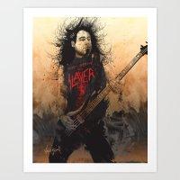 Tom Araya Art Print