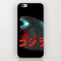 Mighty Kaiju Gojira iPhone & iPod Skin
