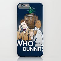 Who Dunnit? iPhone 6 Slim Case