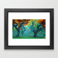 End Of Fall Framed Art Print