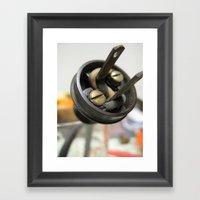 plug 2 Framed Art Print
