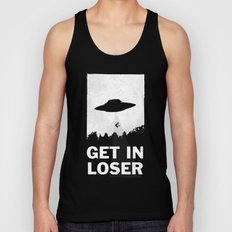 Get In Loser Unisex Tank Top