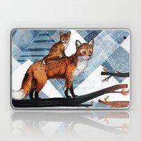 Fox Wood Laptop & iPad Skin