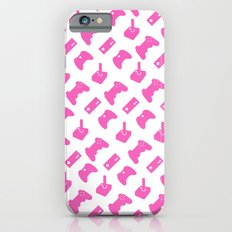 Gamer  - Pink on White iPhone 6s Slim Case