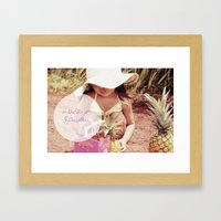 Made In Hawaii Framed Art Print