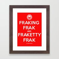 FRAK Framed Art Print