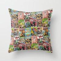 Bargain Bin: Collected Throw Pillow