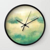 Clouds1213 Wall Clock