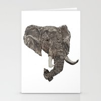 Street Elephant Stationery Cards