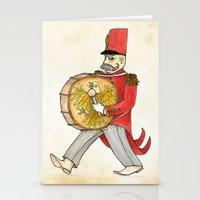 López, Bass Drum Stationery Cards