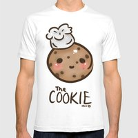 The 'Cook'ie Mens Fitted Tee White SMALL