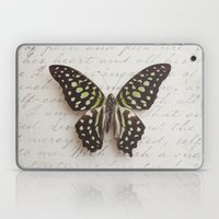 Graphium agamemnon butterfly Laptop & iPad Skin