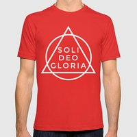 THE FIVE SOLAS: SOLI DEO… Mens Fitted Tee Red SMALL