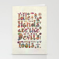 Devil's Tools Stationery Cards