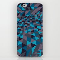 Triangulation (Inverted) iPhone & iPod Skin