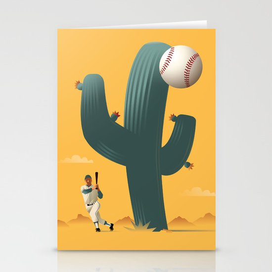 Cactus League Stationery Card