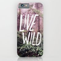 iPhone & iPod Case featuring Live Wild: Oregon by Leah Flores