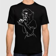 Snow Vader Mens Fitted Tee Black SMALL