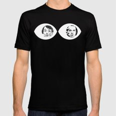 Peepers - Peep Show Mens Fitted Tee Black SMALL