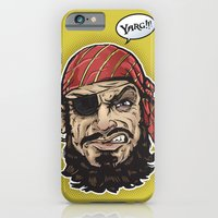 iPhone & iPod Case featuring Yarg Pirate! by Brewer Arts