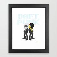Robot Rock Framed Art Print
