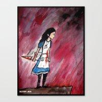 Alice: Infinite Sadness Canvas Print