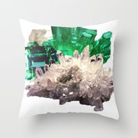 Crystal Visions Throw Pillow